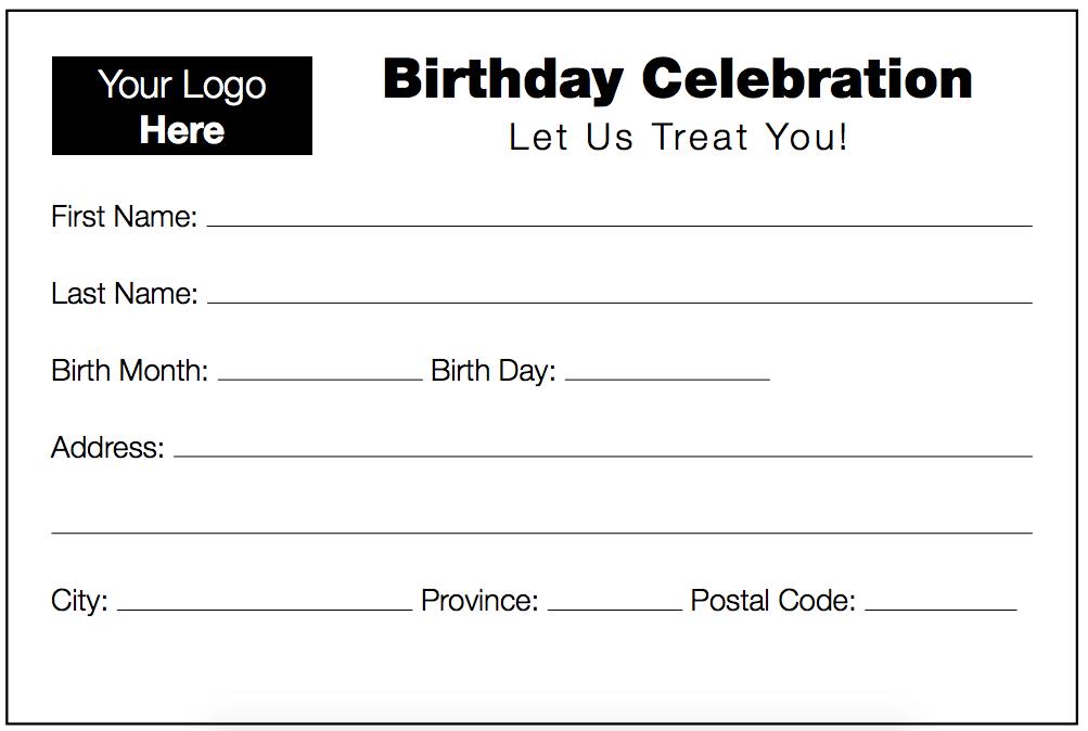 Know Your Neighbourhood Birthday Card